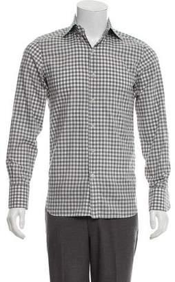Tom Ford Patterned Dress Shirt