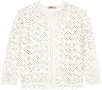 Cath Kidston Cotton Crochet Cardigan