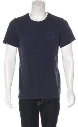 Current/Elliott Solid Woven T-shirt