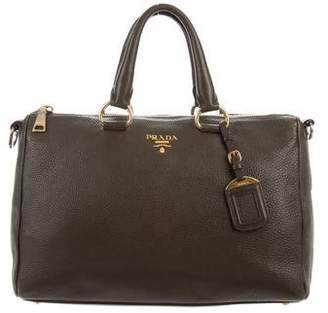 2241dee1e28d Pre-Owned at TheRealReal · Prada Vitello Daino Satchel