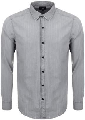 G Star Raw Denim Landoh Shirt Grey