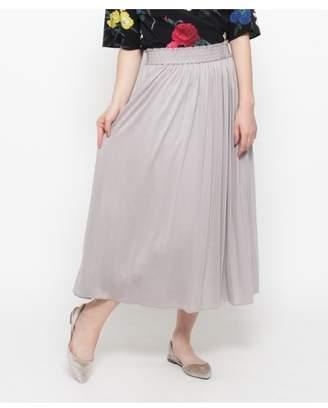 smartpink (スマートピンク) - スマートピンク [洗える]トロミジャージスカート