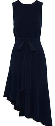 Sachin + Babi Bow-Embellished Stretch-Cady Dress
