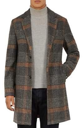 Ted Baker Frais Checked Overcoat