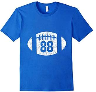Football Player 88 T Shirt Distressed Look