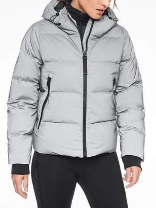 Athleta Snow Down Reflective Jacket
