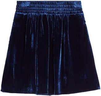 Golden Goose Albina Velvet Skirt