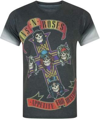 N. Vanilla Underground Guns Roses Appetite Sublimation Men's T-Shirt (S)
