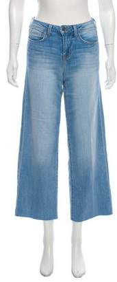 L'Agence Mid-Rise Culotte Jeans
