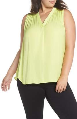 Vince Camuto Rumpled Satin Top