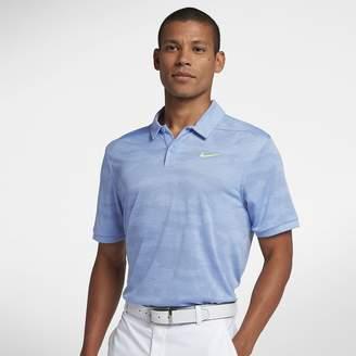 Nike Zonal Cooling Men's Camo Golf Polo