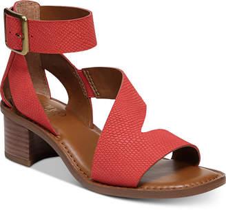 Franco Sarto Lorelia Block-Heel Strappy Dress Sandals Women's Shoes