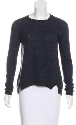 Rebecca Taylor Cashmere Striped Sweater