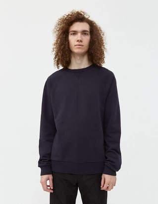 Dries Van Noten Heard Crewneck Sweatshirt in Navy