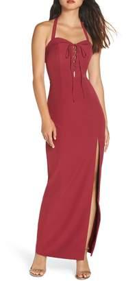 WAYF The Sydney Convertible Halter Dress
