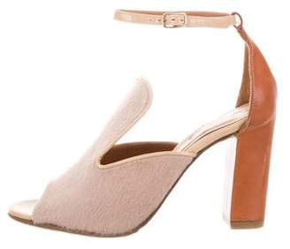 Chloé High-Heel Ankle Strap Sandals