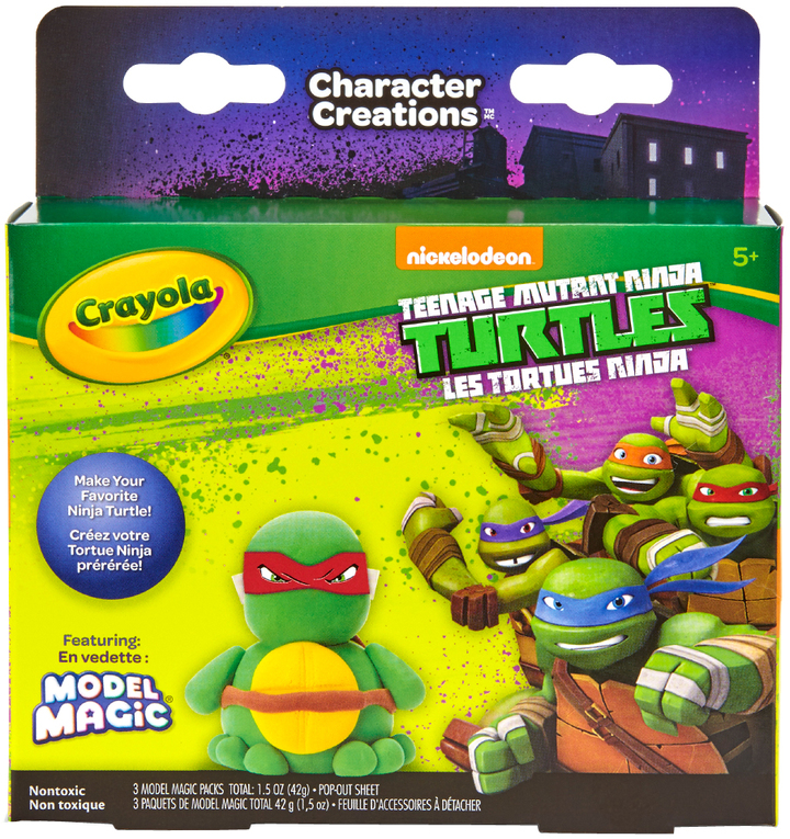 TMNT Model Magic Craft Kit