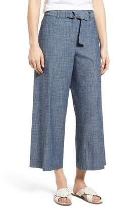 Kenneth Cole New York Wide Leg Crop Pants