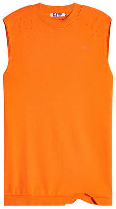 Sjyp Destroyed Sleeveless Top