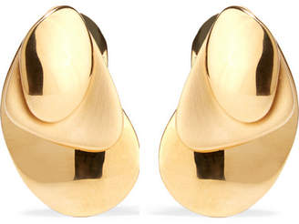 Charlotte Chesnais Gold-dipped Earrings