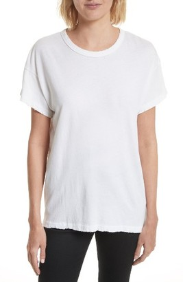 Women's The Great. Graphic Cotton Tee $95 thestylecure.com