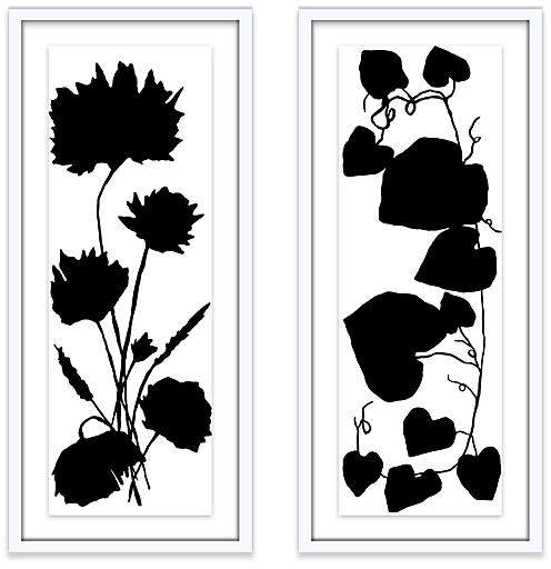Buy White Diptych - Kate Roebuck - 14.5