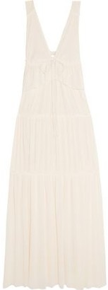 See by Chloe Tiered Voile Maxi Dress