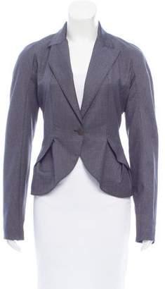 Stella McCartney Wool Peak-Lapel Blazer
