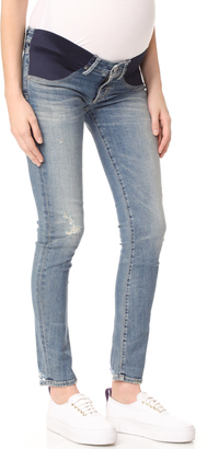 Citizens of Humanity Maternity Racer Jeans $248 thestylecure.com