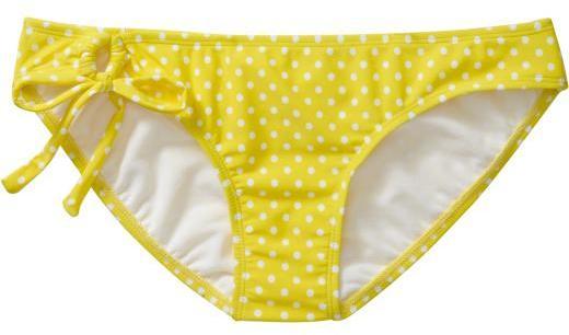 Women's Polka-Dot Bandeau Bikinis
