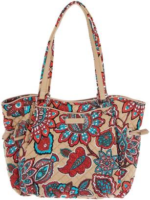 Vera Bradley Iconic Signature Glenna Satchel Handbag