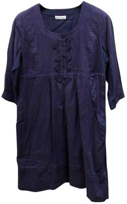 Whistles Purple Cotton Dress for Women