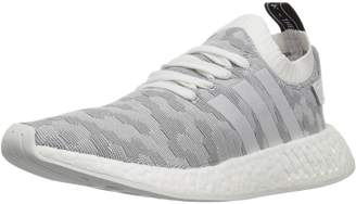 adidas Women's NMD_R2 PK W Running Shoe, White/Shock Pink
