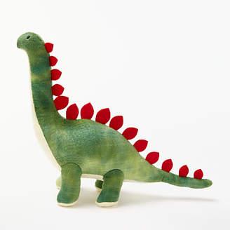 John Lewis Textured Dinosaur Plush Soft Toy, Green