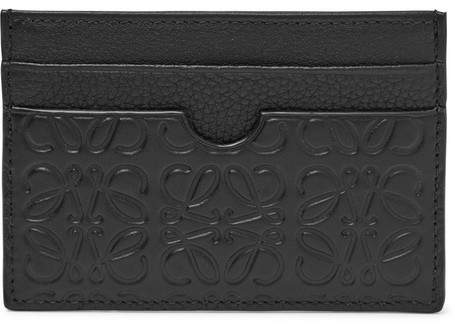 Loewe Puzzle Embossed Leather Cardholder