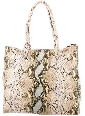 LK Bennett Python Tote Bag