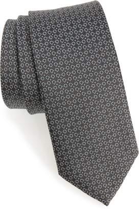 Salvatore Ferragamo Elva Print Silk Tie