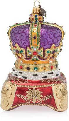 Jay Strongwater Queen's Crown Ornament