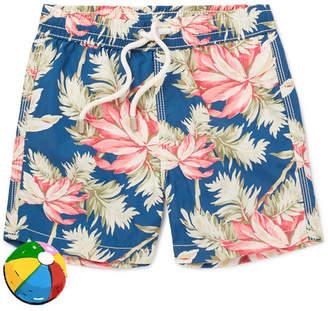 Hartford Boys Ages 2 - 12 Printed Shell Swim Shorts
