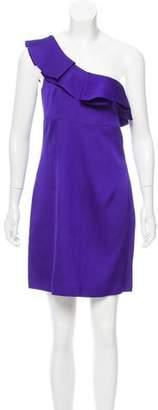 Trina Turk One-Shoulder Mini Dress w/ Tags