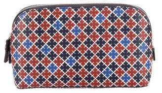 By Malene Birger Quatrefoil Zip Pouch w/ Tags