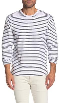 WALLIN & BROS Long Sleeve Novelty Striped Shirt