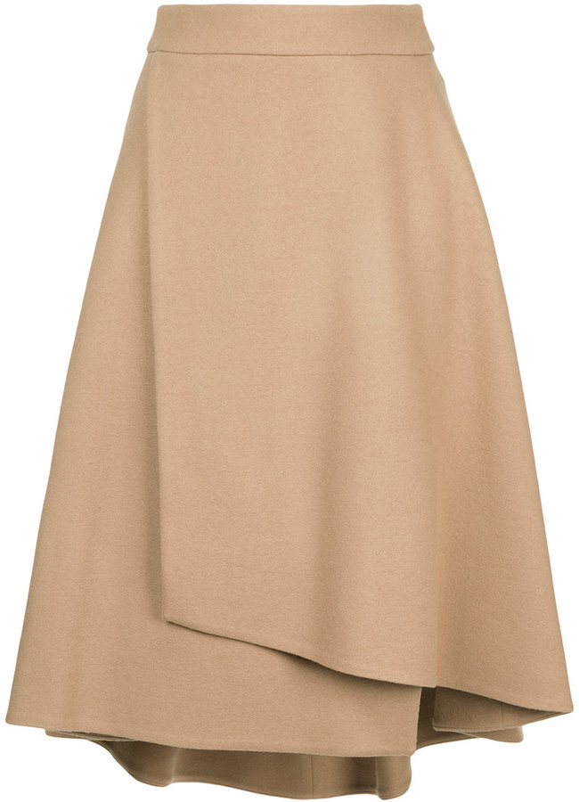 Estnation a-line wrap skirt
