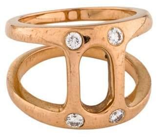 Hoorsenbuhs 18K Diamond Dame Phantom II Ring rose Hoorsenbuhs 18K Diamond Dame Phantom II Ring