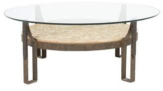 Bleached Wood Coffee Table