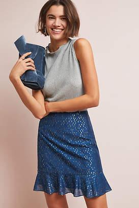 Hutch Metallic Mini Skirt