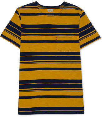 Levi's Men's Striped Pocket T-Shirt