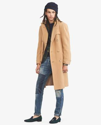 Polo Ralph Lauren Camel-Hair Topcoat