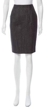 Les Copains Virgin Wool Pencil Skirt