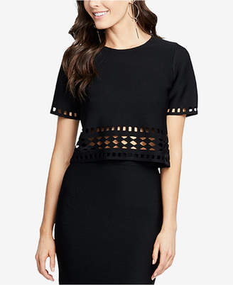 Rachel Roy Cutout Crop Top